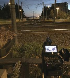 FS700 timelapse over tramlines in Sheffield.