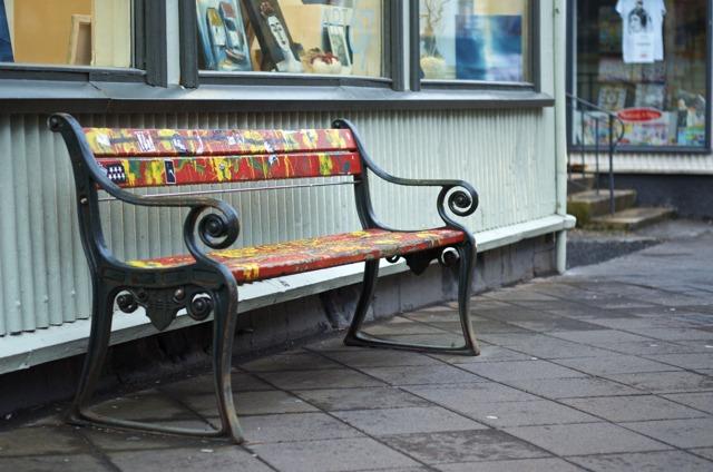 Iceland - Reykjavik Bench