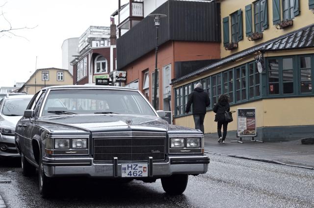 Iceland - Reykjavik Cadillac