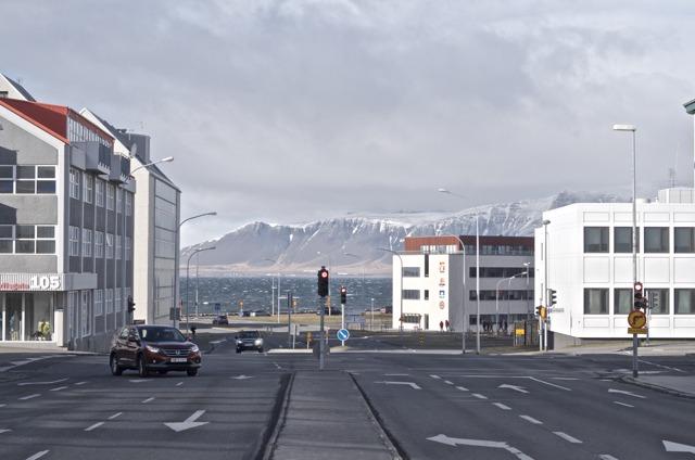 Iceland - Reykjavik Snorrabraut:Laugavegur