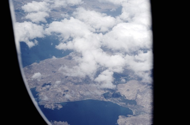 Iceland - View from Plane